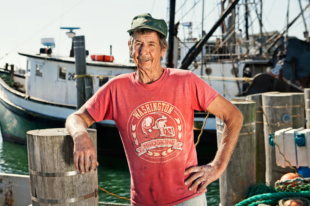 Ted Stevens, Commercial Fisherman, Storm King Boat, Town Dock