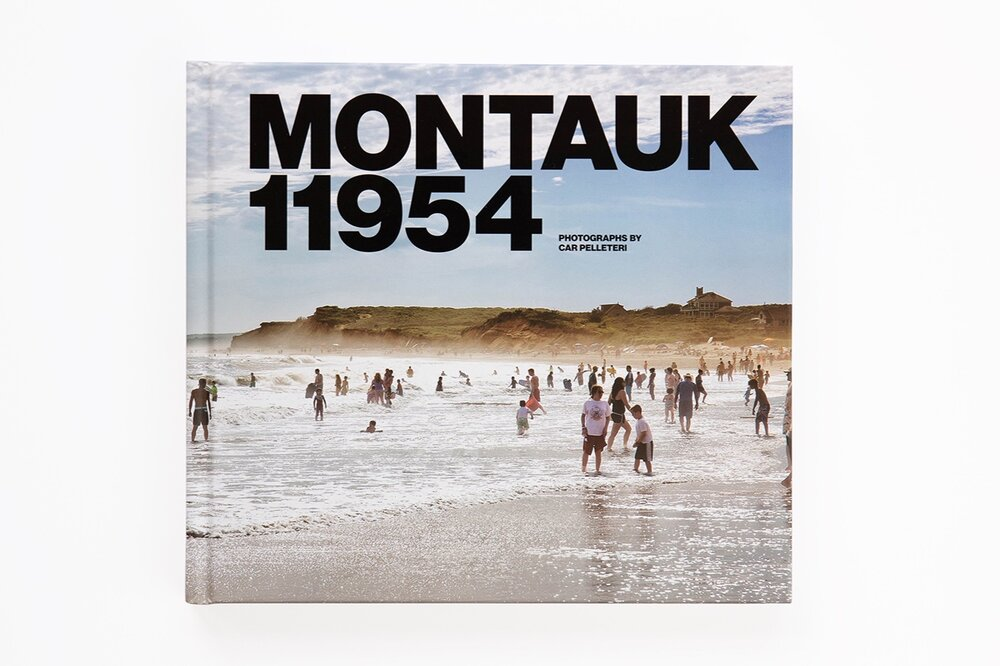 "Click thumbnails to see a peek of Car's new book ""Montauk 11954"""