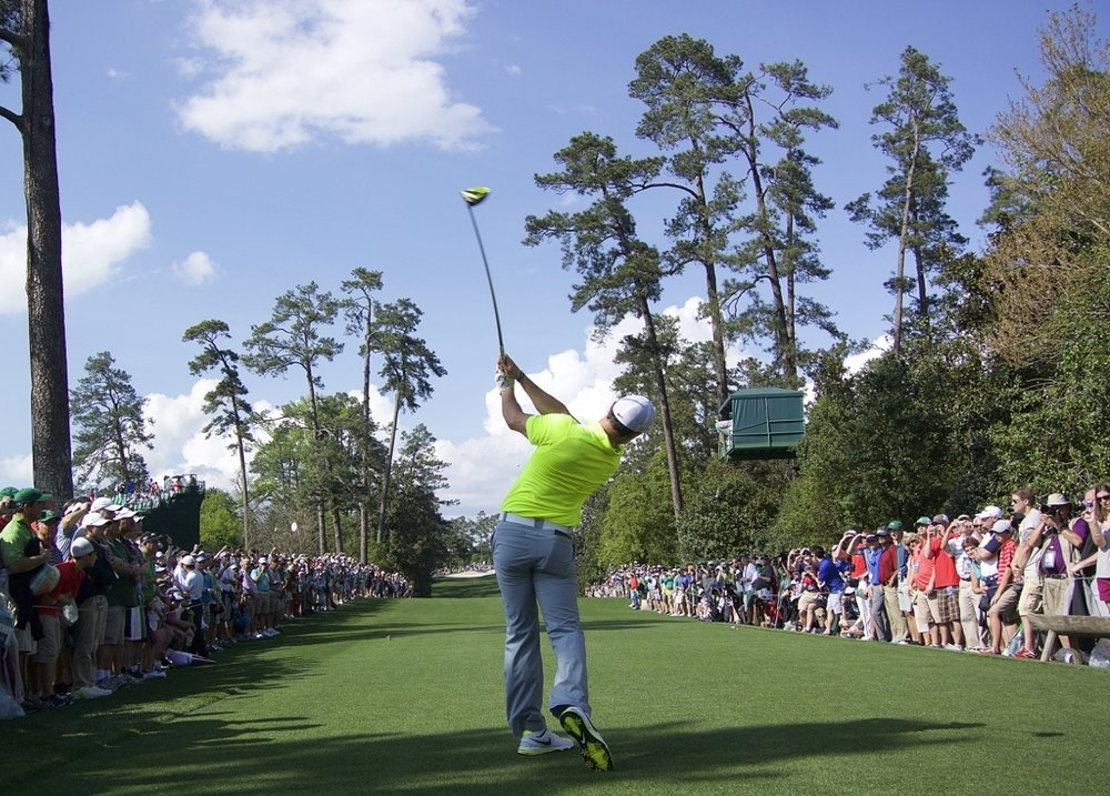 The Masters - The first major of the year, The Masters, which is held annually at The Augusta National Golf Club, is one of the most prestigious events in all of sports.
