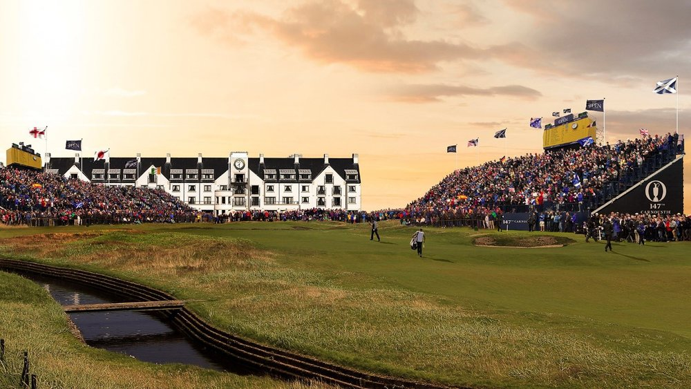 The Open Championship - The 147th playing of The Open Championship will be held at Carnoustie Golf Links' Championship Course.