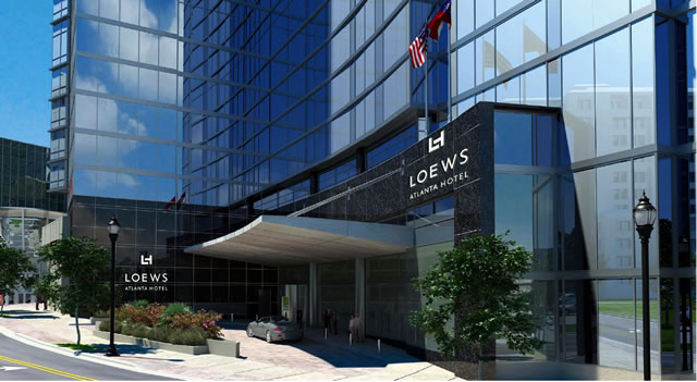 Host Hotel - The Loews Atlanta Hotel