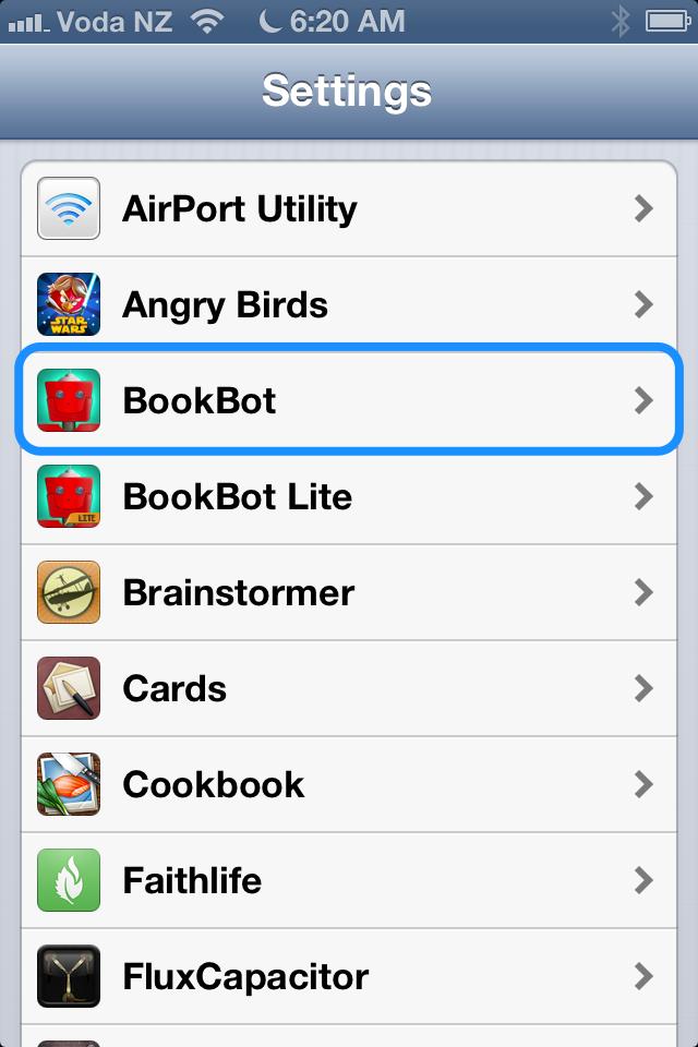 Tap BookBot