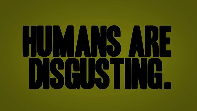 VIRAL SHORT : SCORE Humans Are Disgusting! Infographic