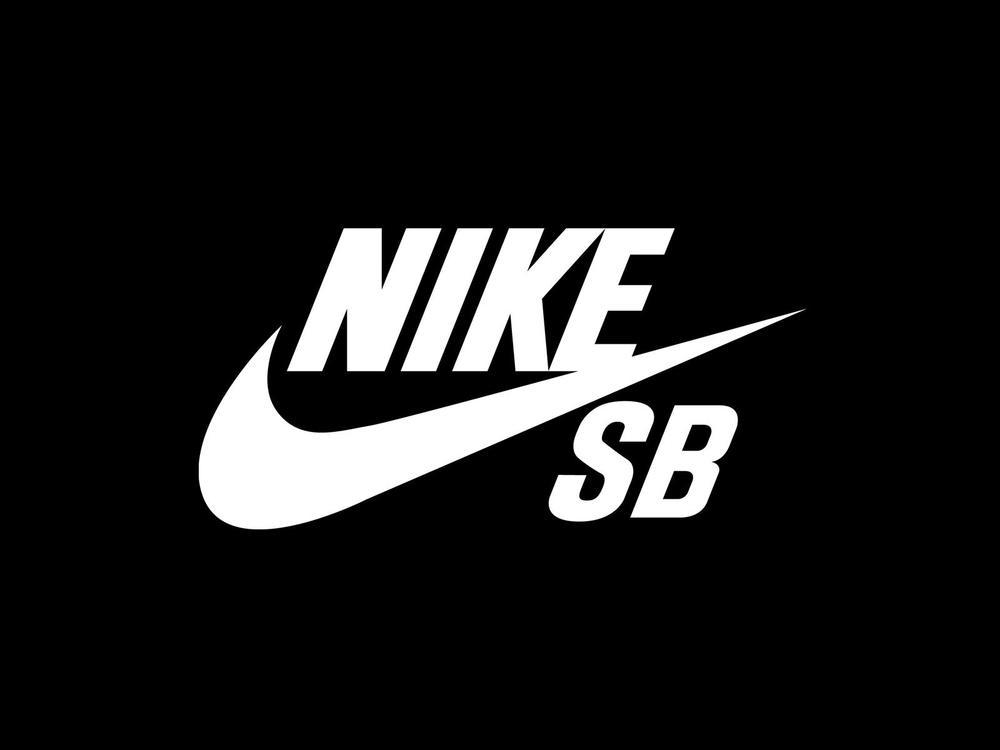 Image Gallery nike skate logo