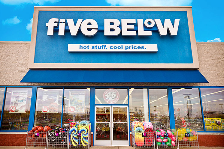 Five Below messaging reflects the unique, playful, and trendy brand image. With storytelling, call-to-action, mobile coupons and more, Five Below is able to engage their fun-loving customers in-store and online.