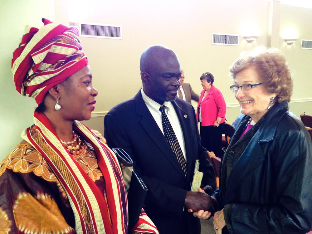 Rev. Emile Sam-Peale and his wife Beatrice shared with RBC some of Liberia's struggle against Ebola.