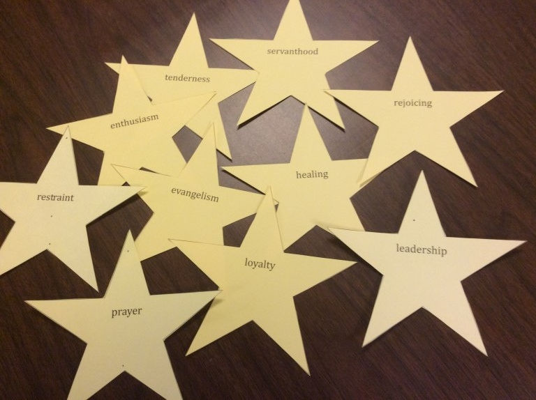 "Photo from ""Star Words, Presbyterian Outlook."" Learn more about how other churches observe Star Words."