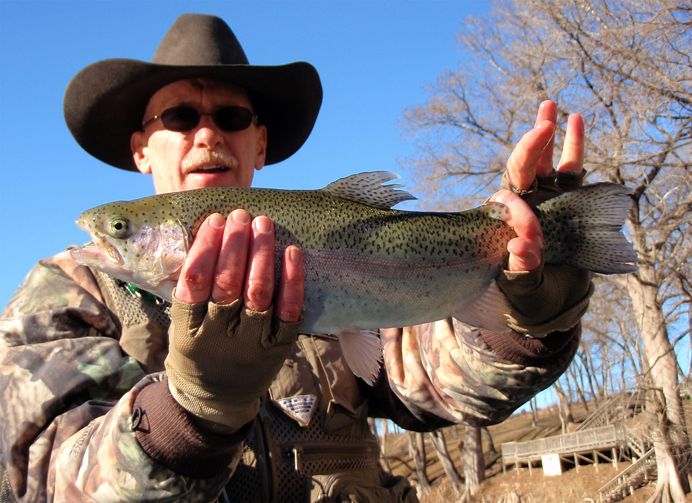 Jeff Grigsby Guadalupe River trout