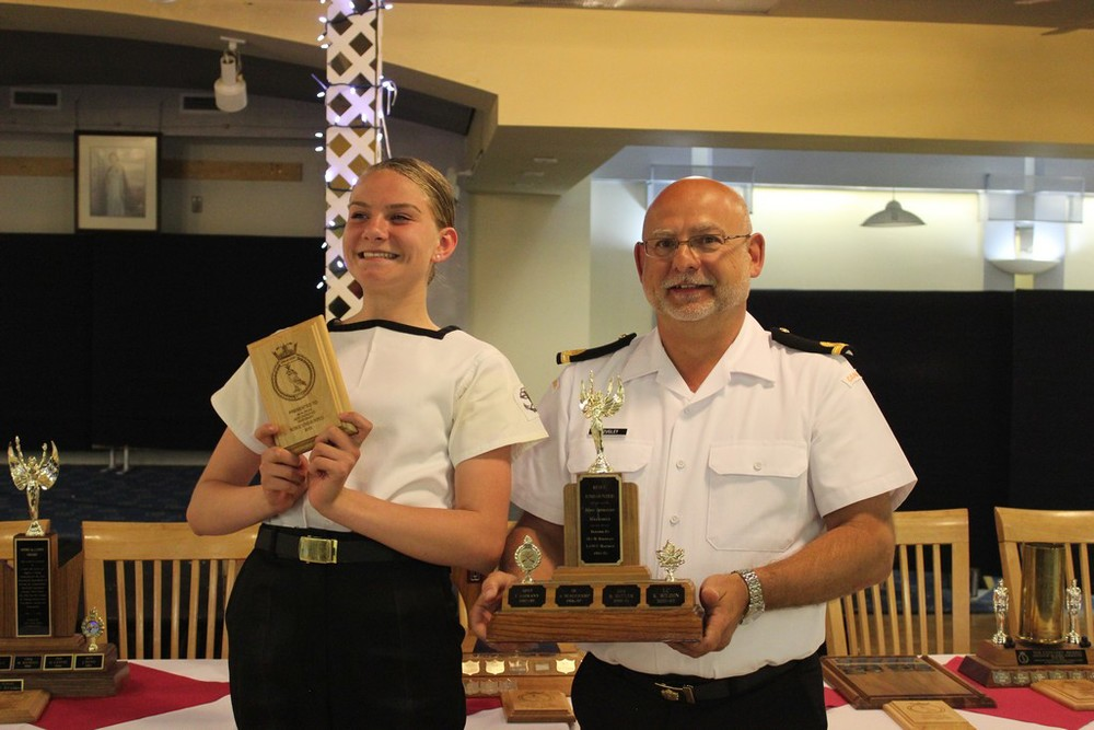 Most improved marksman - MS Pryde