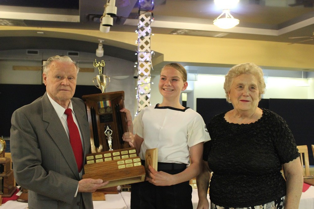 Charles E. Hill Memorial award for citizenship - MS Pryde