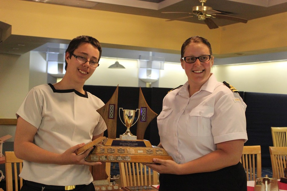LCdr J. Coutts trophy - Best Divisional Petty Officer - PO1 Neary