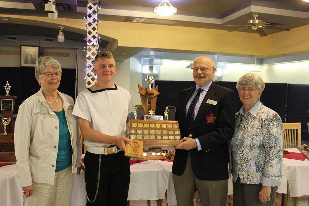 McGowan Memorial trophy - Best Sr NCO - CPO2 Grills