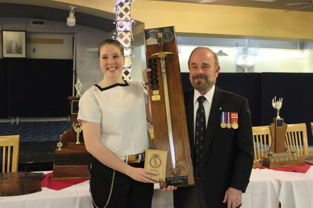 Cdr Bill Evelyn award - CPO1 Read
