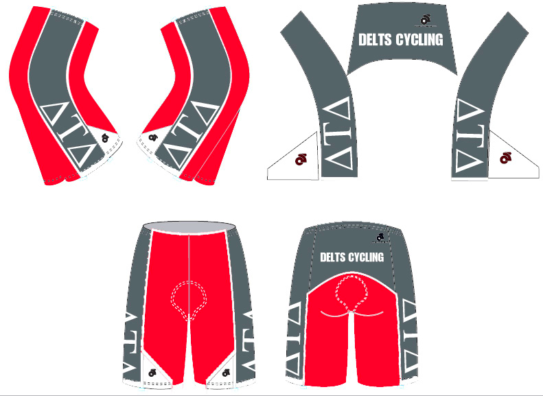 Delt Cycling Bibs