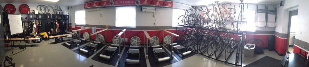 State-of-the-art Bike Room