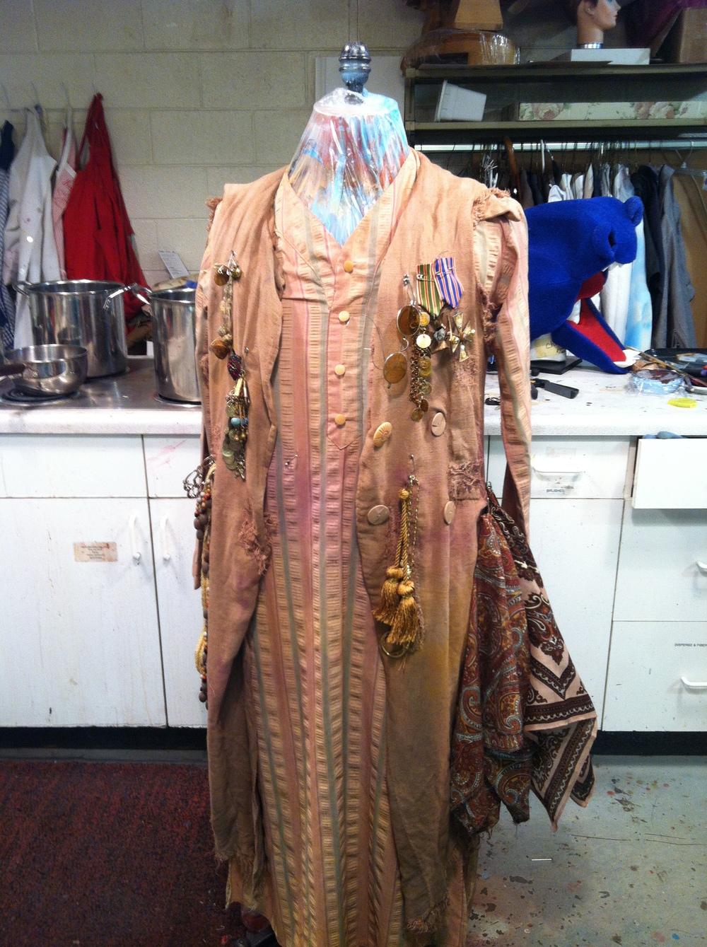 Final Merchant Look: Dyeing, Distressing by Arlene Felipe