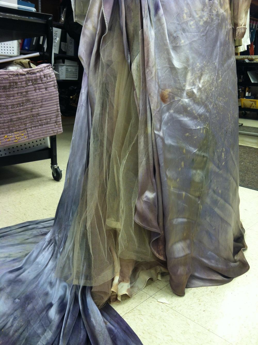 Dyeing, Distressing by Arlene Felipe