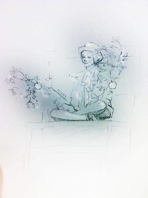 Concept Sketch: Ensemble as The Apple Tree