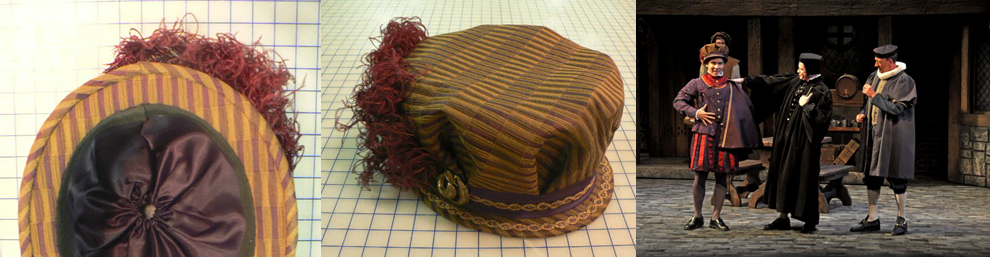 """Millinery for """"Merry Wives of Windsor"""""""