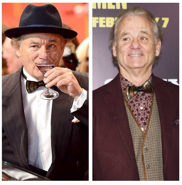 "Bill Murray in an ""Original"" Feather Bow Tie"