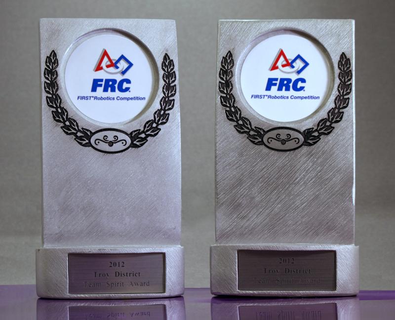 2012 Troy District eam Spirit Award