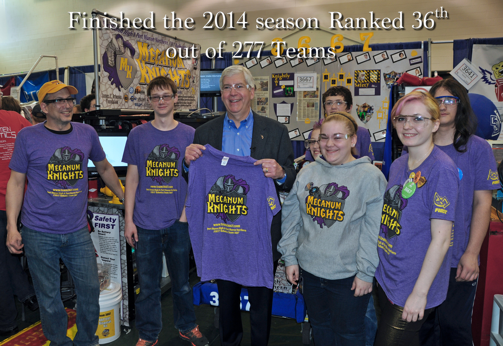 Michigan FRC State Championship 2014