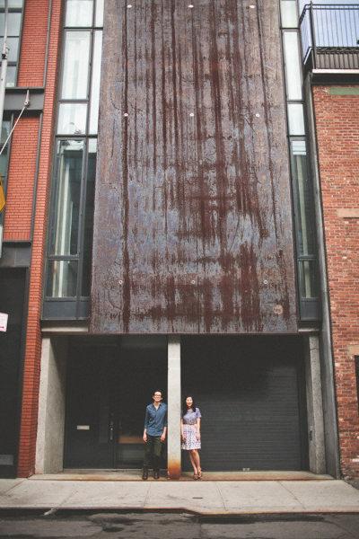 engagement shoot-new york city