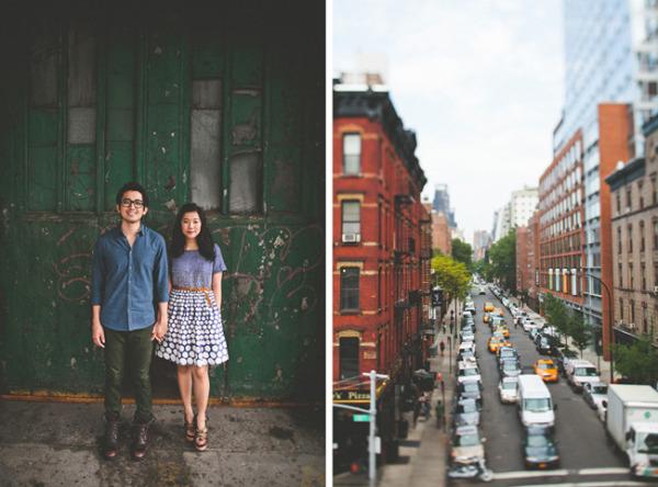 tin-sparrow-engagement shoot-new york city
