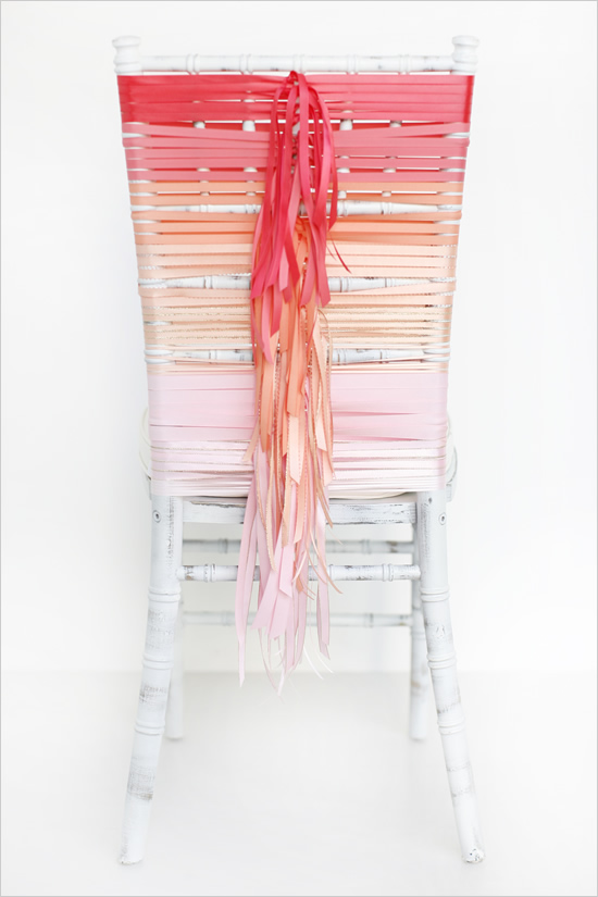Ombre-Ribbon-Chair