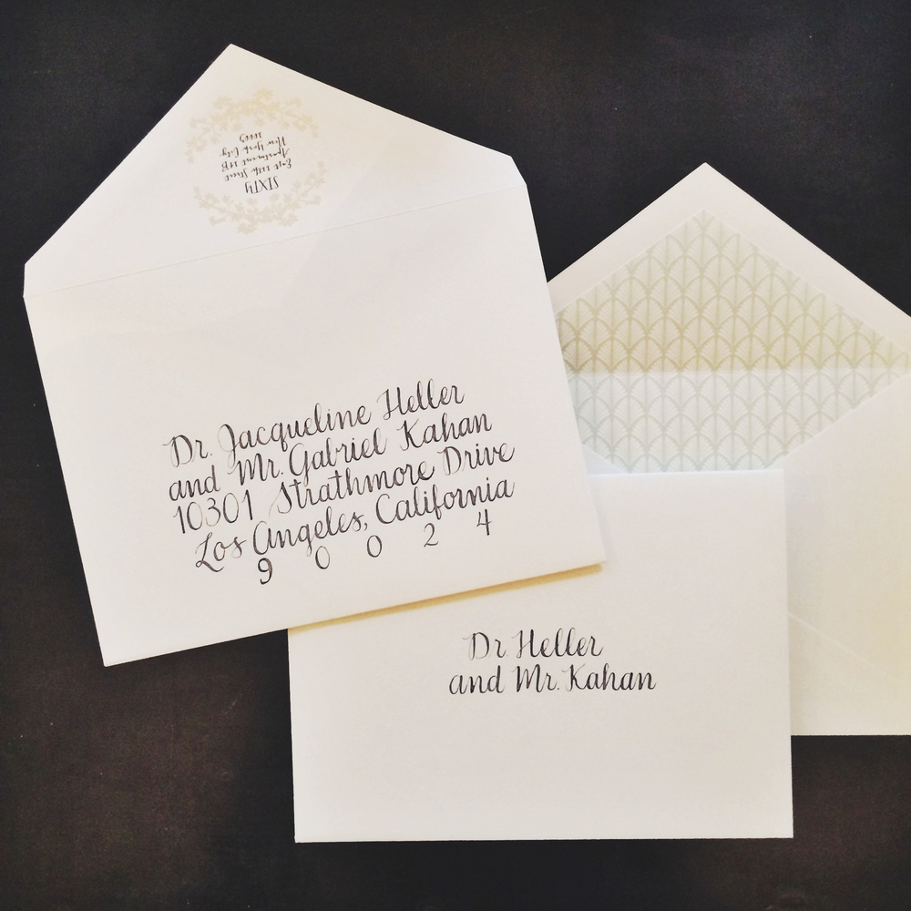 inner envelope wedding invitation | Wedding