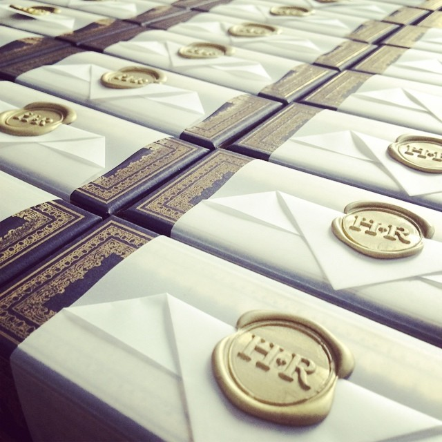 Paper Tip Go Luxe with a Wax Seal FourteenForty Custom Wedding