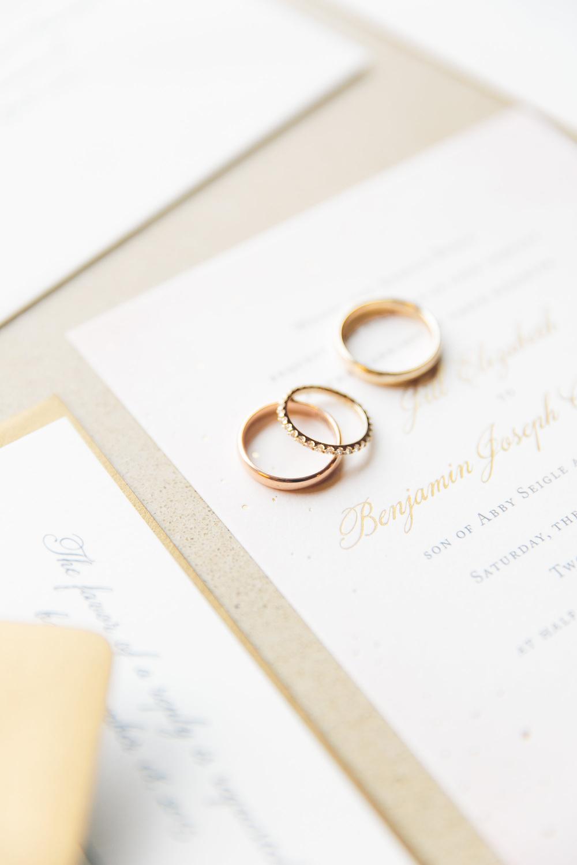 Jill + Benjamin — Fourteen-Forty: Custom Wedding Invitations