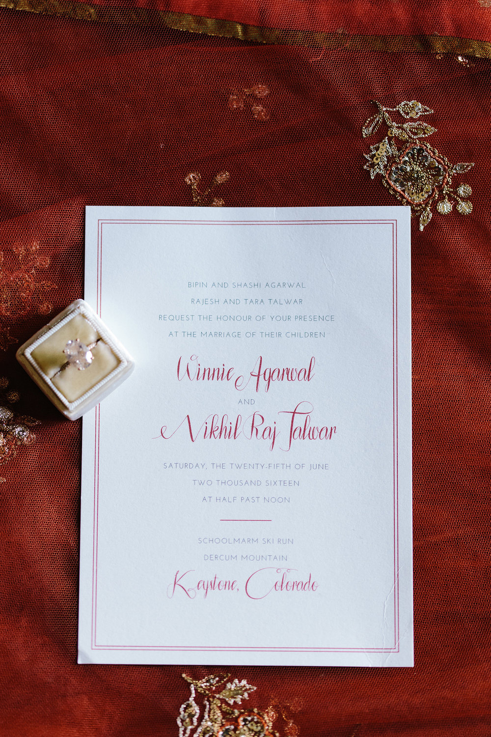 Winnie + Nik — Fourteen-Forty: Custom Wedding Invitations