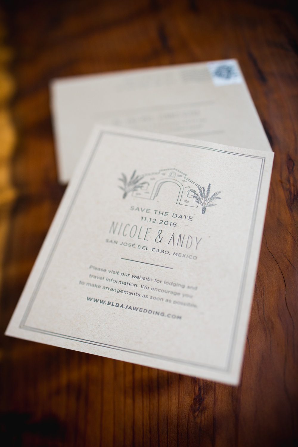 Nicole + Andy — Fourteen-Forty: Custom Wedding Invitations