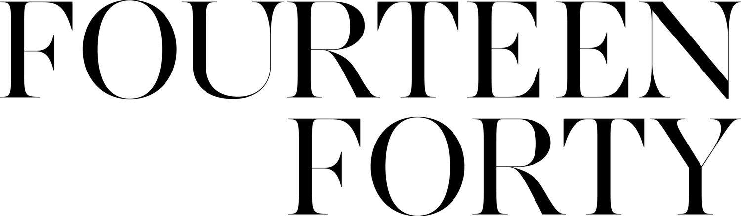 Fourteen-Forty: Custom Wedding Invitations