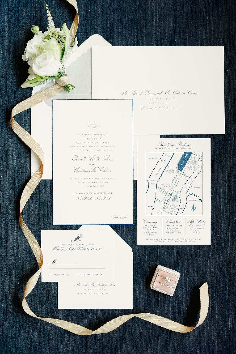 Iconic New York City Skyline for a Rainbow Room Wedding — Fourteen ...