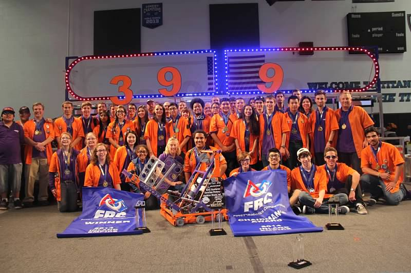 Our team at the 2014 Inland Empire regional after being crowned Regional Champions and Regional Chairman's winners