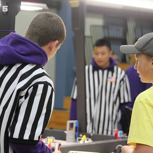 Our students serving as referees at our 9th annual HDLT
