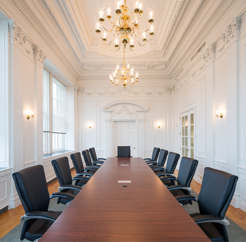 Boardroom of Brown & Brown of Pennsylvania, LP.