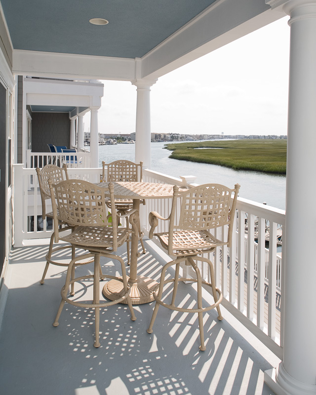 If you're not in the mood for the beach, the pool or boating, you can relax on your shaded balcony. These views will never get old.