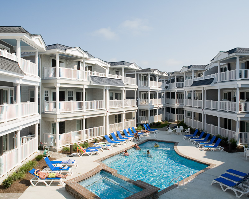 Courtyard at Windward Harbour.