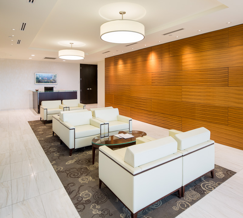 A great place to wait before meeting your attorney.