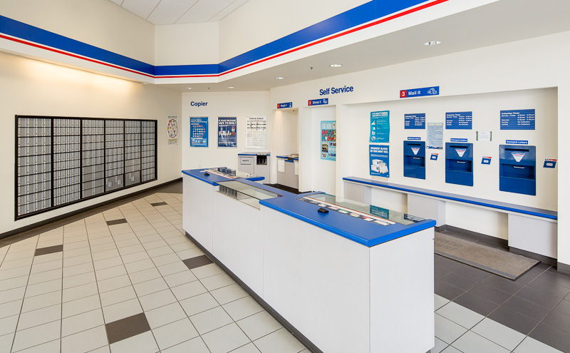 Not every part of a building is glamorous, but the US Post Office pays their rent every month.