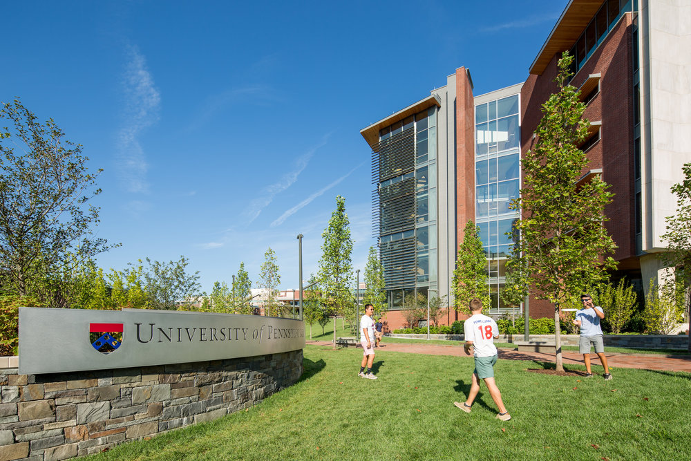 Student life is already underway at the new gateway to Penn's main campus.