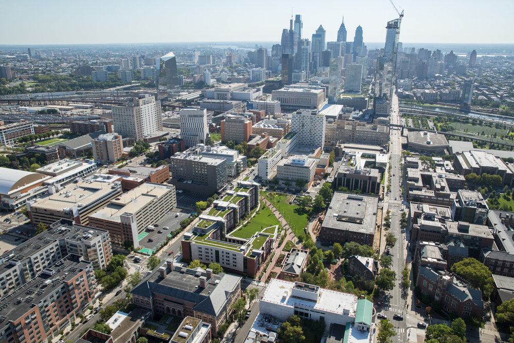 Just west of Center City Philadelphia, New College House stands out as a true urban oasis.