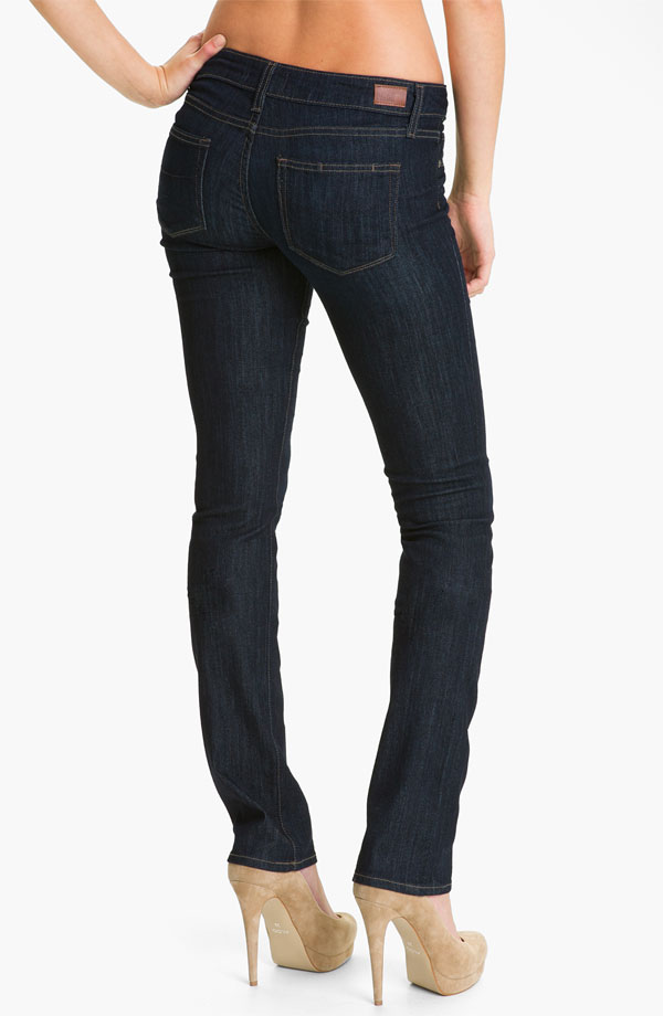 Paige 'Skyline' Straight Leg Stretch Jeans (Dream) - $189 at Nordstrom.jpg