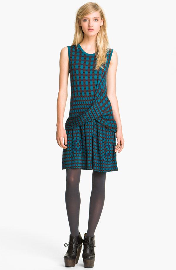 Thakoon Addition Plaid Ponte Knit Dress.jpg