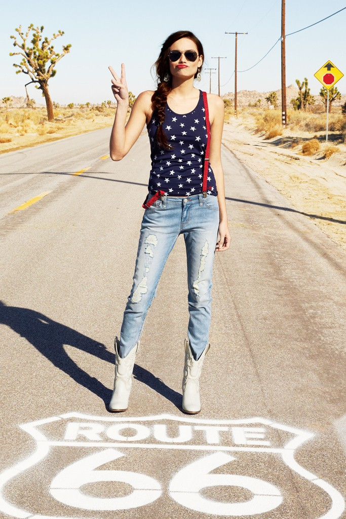 Levi's exclusive for Macy's American Icons campaign.