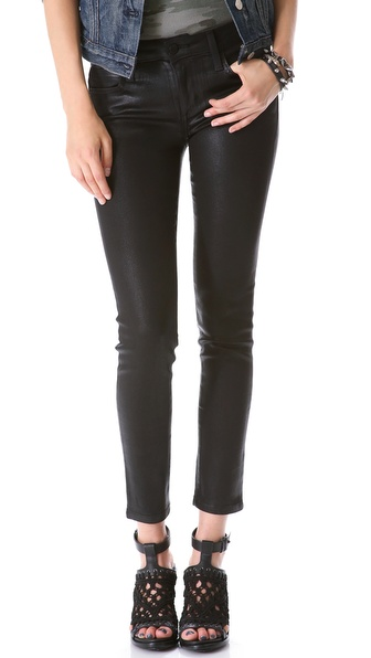 JOE'S JEANS Coated Ankle Skinny Jeans $165