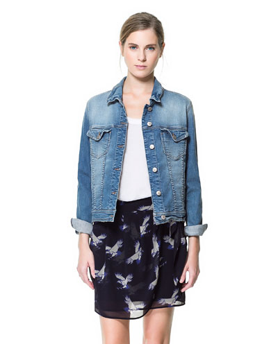 ZARA Denim Jacket $69.90